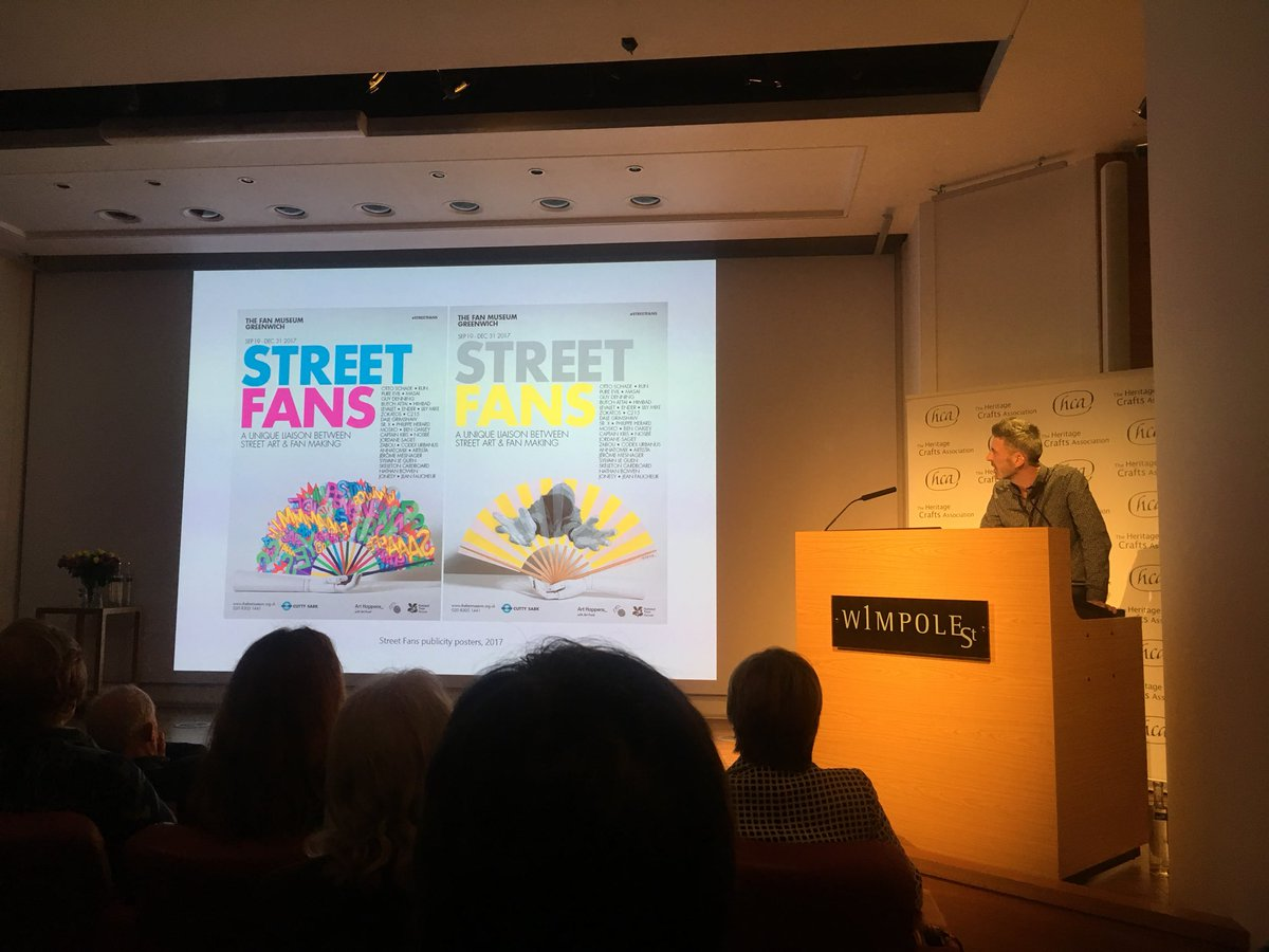 ca1e3d1810f Our very own Curator Jacob Moss talks about the  EndangeredCraft of fan  making and the impact of  StreetFans at  HCACraftFutures.