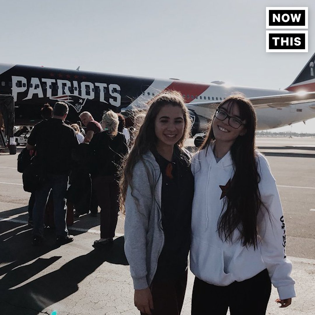 RT @nowthisnews: The @patriots loaned their plane to Parkland students so they could get to the #MarchForOurLives https://t.co/6gJHfcPU7I