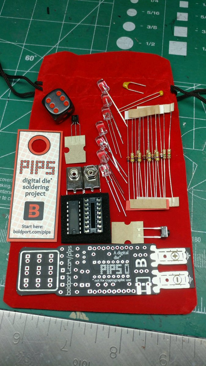 Yay! Got the latest #BoldportClub kit! @boldport