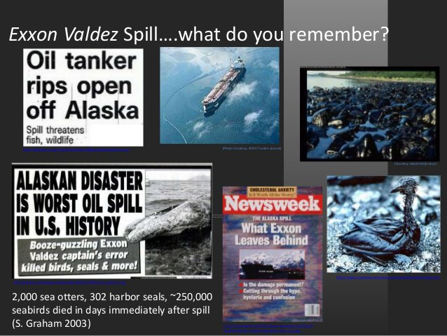 the exxon valdez essay I would like to thanks the writer for the essay, and thanks  god's foreknowledge, predestination, and human freedom , 7 pages, 24 hours , i am working on my final year project and i like working with this writing service, because they create the best essays and editing service in the world.