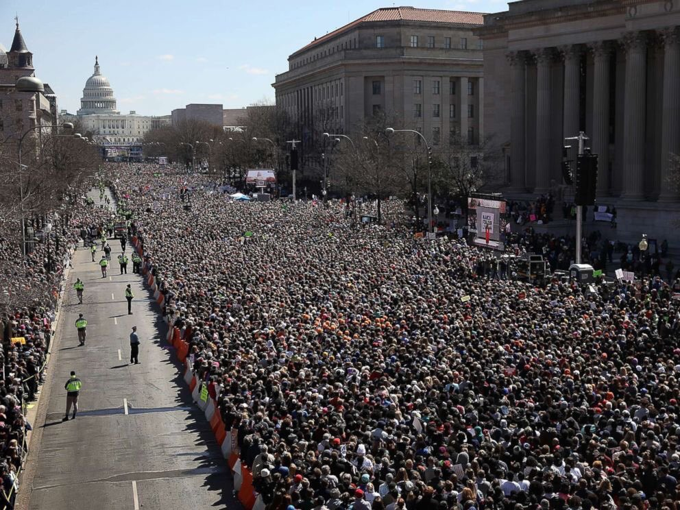 The young people will win.   #MarchForOurLives