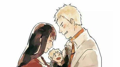 Naruto's Family 😍