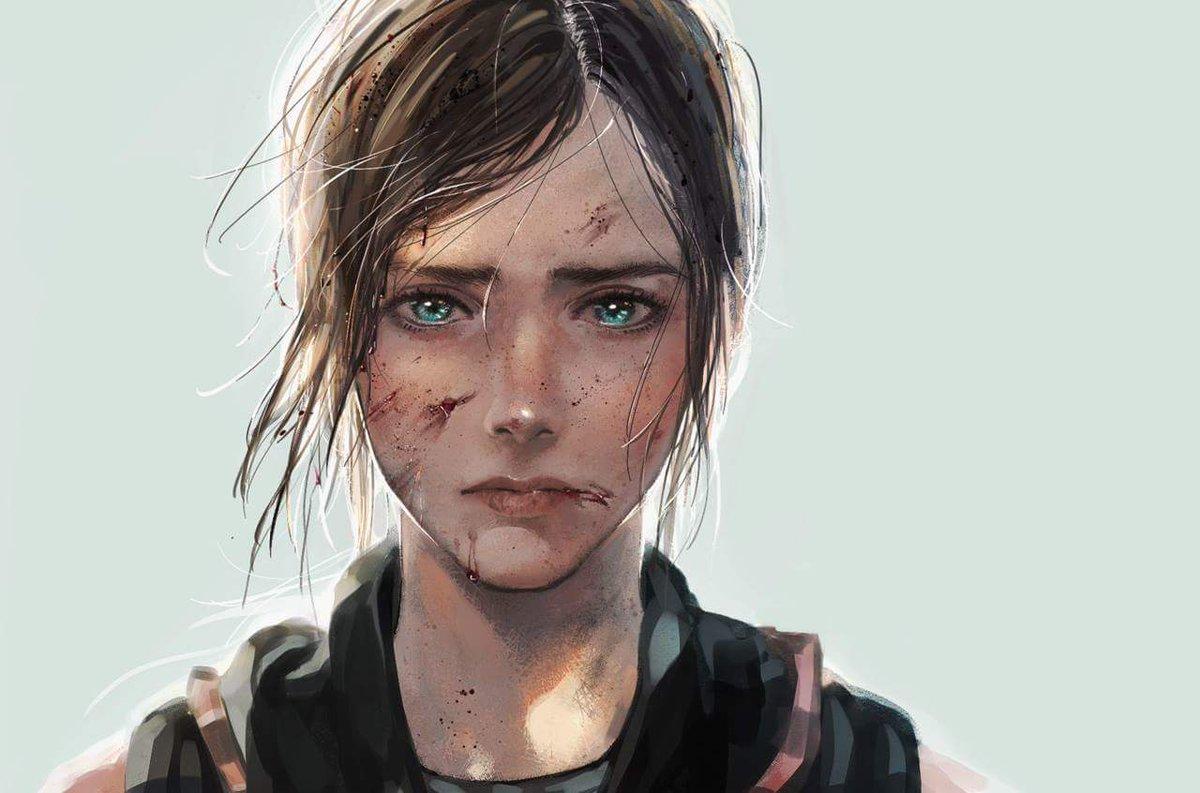 The Last Of Us 2 News On Twitter Ellie Fan Art The Last