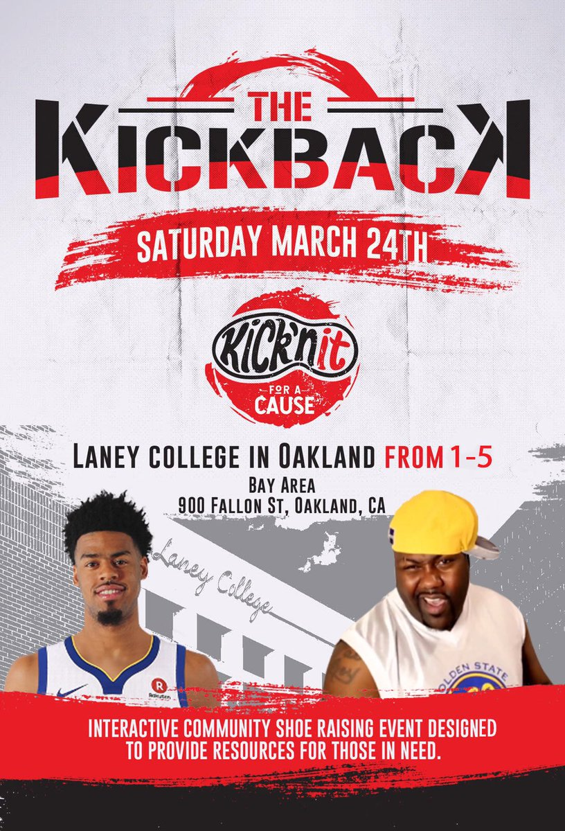 5bc3a2c3fd79d7 Bring sneakers to donate to #Kicknitforacause as they're looking to raise  100K Sneakers for Africa. Go check them out!pic.twitter.com/IGDzOjNGmP