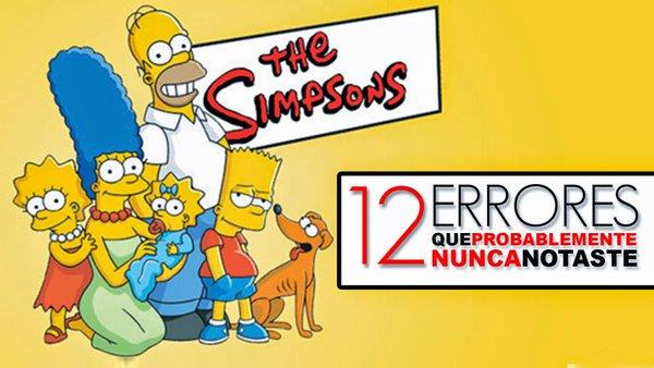 12 Errores que probablemente nunca notaste en Los Simpsons https://t.co/b1C1lt0xJ4 https://t.co/n2VydMJyqK