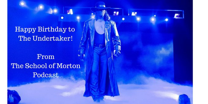 Happy Birthday to The Undertaker! w/