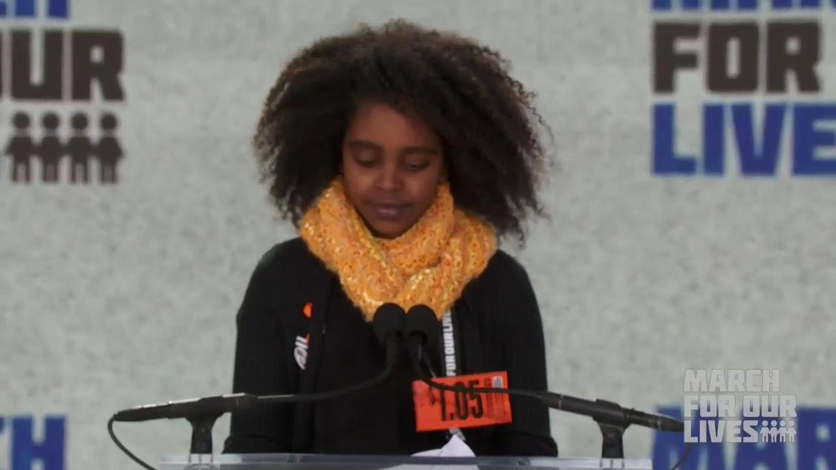 This is #NaomiWadler! #MarchForOurLives