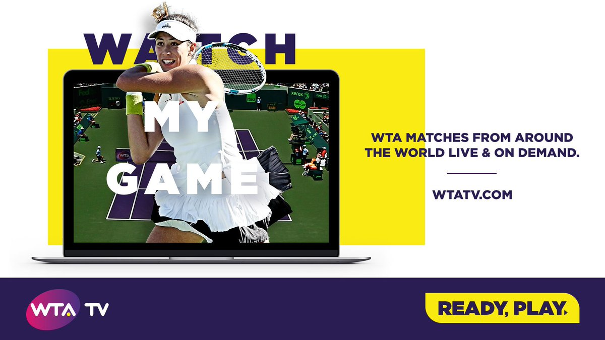 Catch All The Action Live On Wta Tv Https T Co Zhqjnwfsz Https T Co Jyyqfdmnj