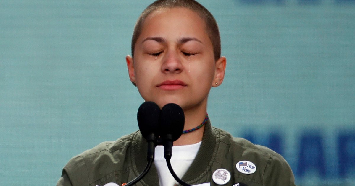Emma Gonzalez is responsible for the loudest silence in the history of US social protest https://t.co/3yJNHPmhEB