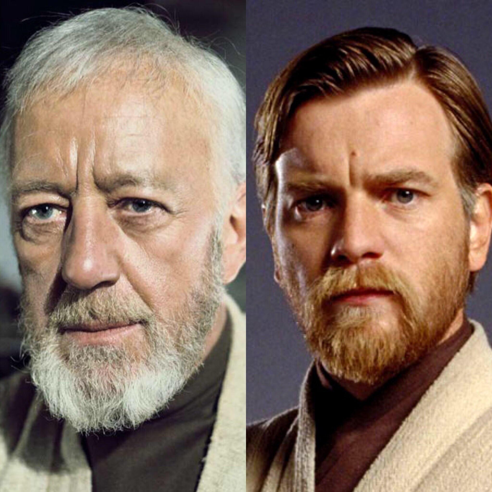 Obi Wan Kenobi Star Wars Film Legende Alec Guinness Herren Alle Größen