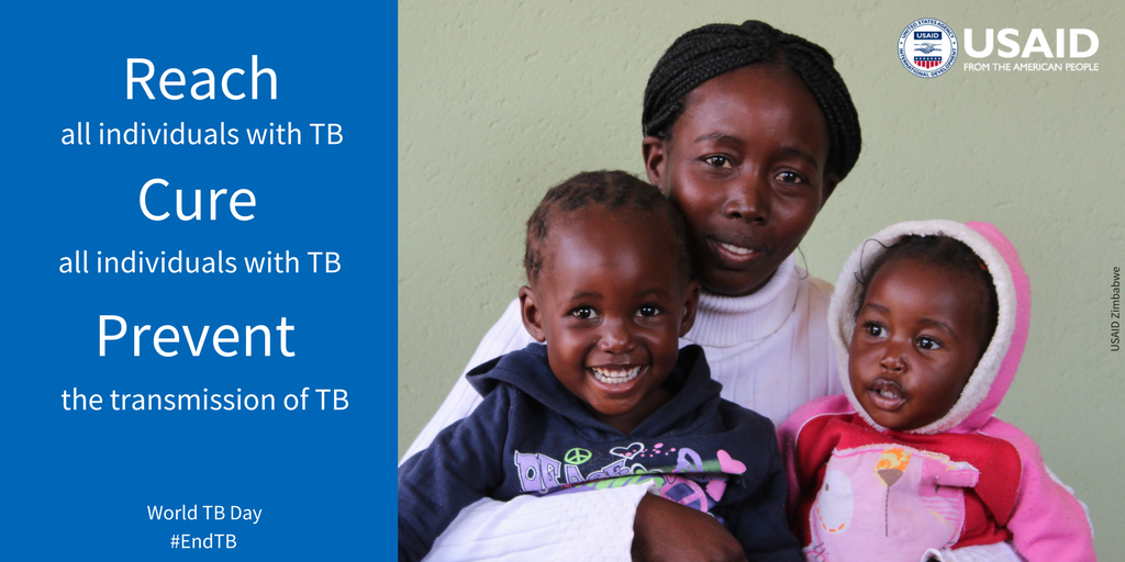.@USAID partners with countries & partners to Reach, Cure & Prevent #TB #WorldTBDay #USAIDTransforms
