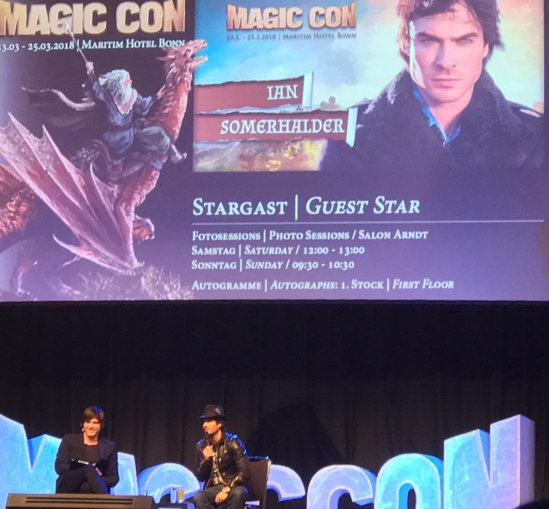 "Magiccon 2018: Ian Somerhalder News On Twitter: ""Ian Somerhalder At"