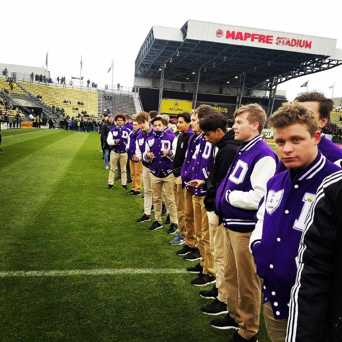 637805202ce SFD Boys Soccer, St. Francis DeSales, Columbus Crew SC and MAPFRE Stadium