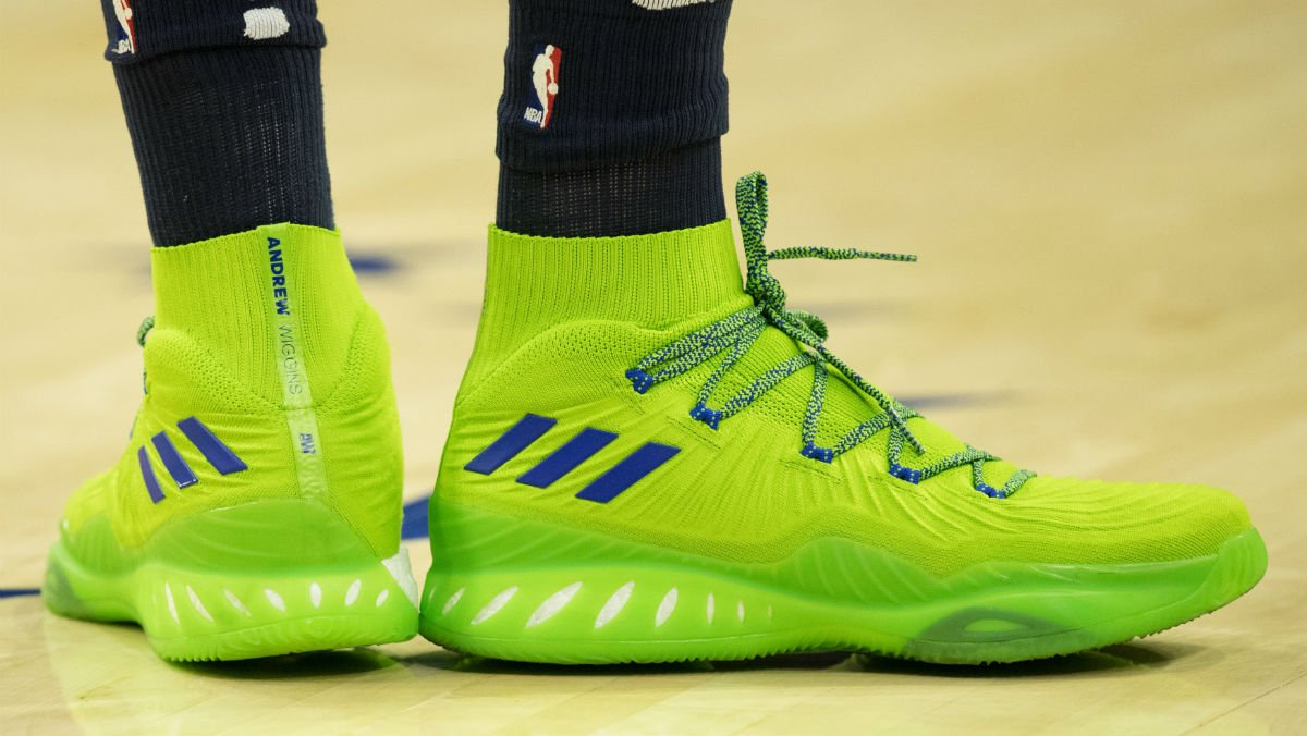 buy popular 912e7 8b732 solewatch hard to miss 22wiggins adidas crazy explosive pe