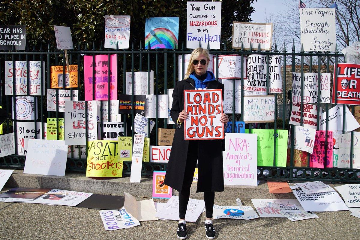 load minds, not guns. #marchforourlives