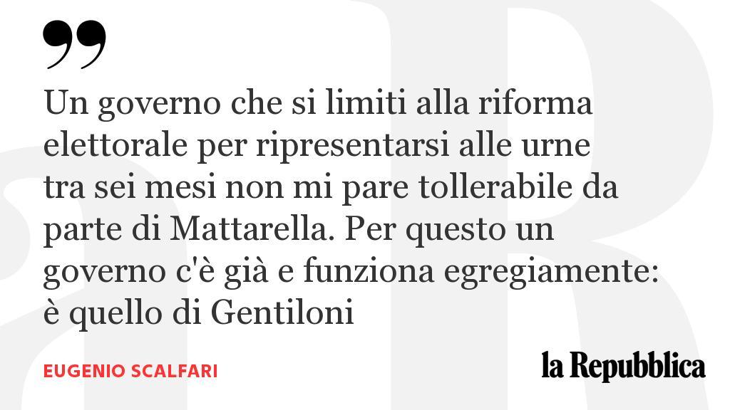 Il potere dei populisti in un Paese fragile. L'editoriale di Eugenio #Scalfari  https://t.co/dhanxLhFDY