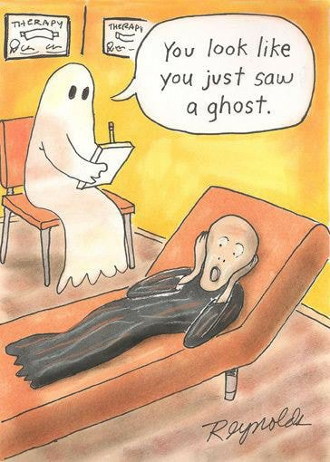 Резултат с изображение за halloween therapy jokes