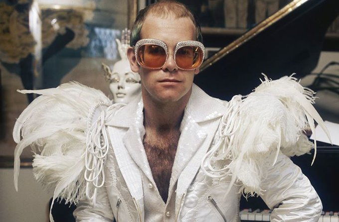 Happy birthday to Reginald Kenneth Dwight or as you may know him Elton John.