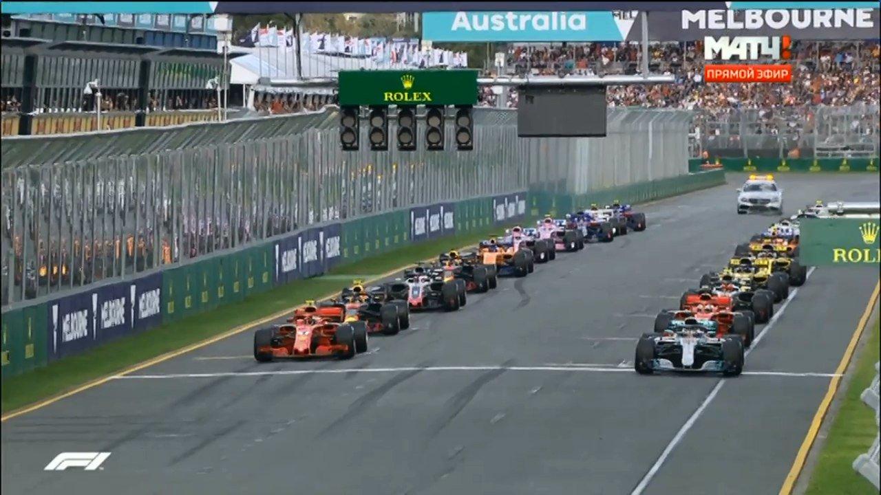 Формула-1. Гран-при Австралии Гонка 17.03.2019 смотреть онлайн