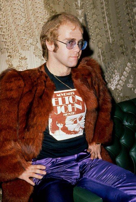 Happy 71st birthday to Elton John!