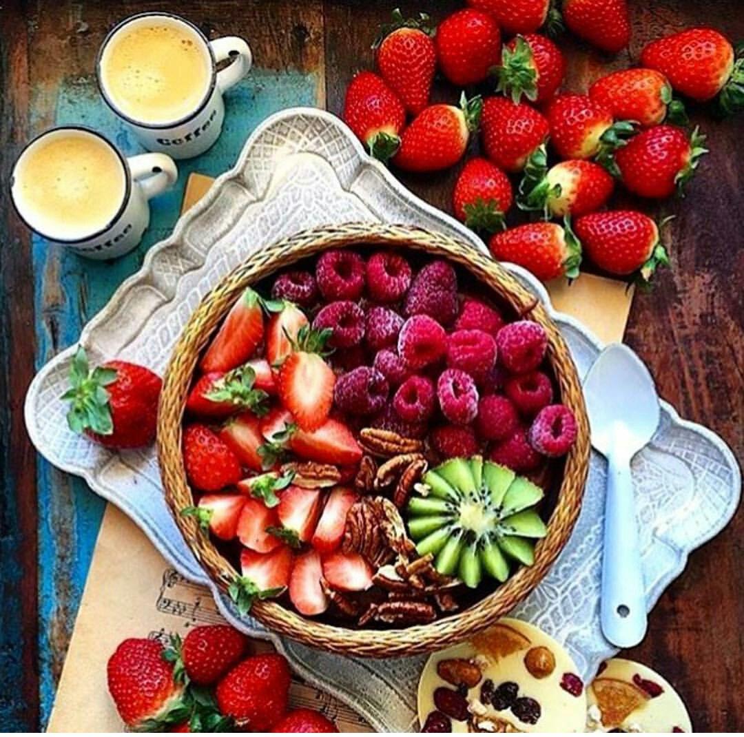 Доброе утро картинки фрукты красивые