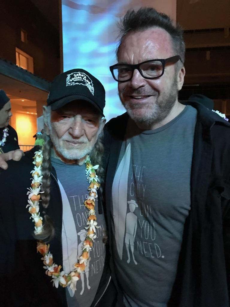 #MarchForOurLives Concert For Our Lives one year ago on Maui with Willie. #EnoughIsEnough #SundayThoughts