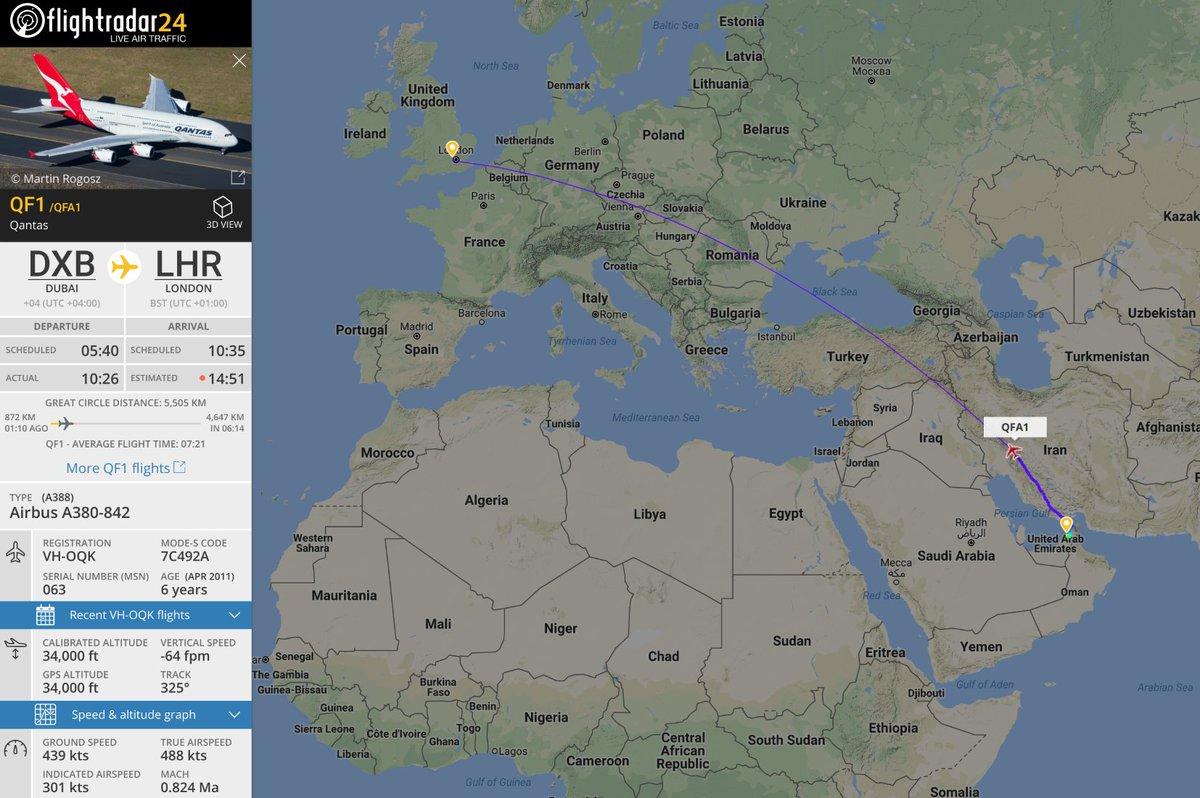 Flightradar24 on Twitter From today Qantas has