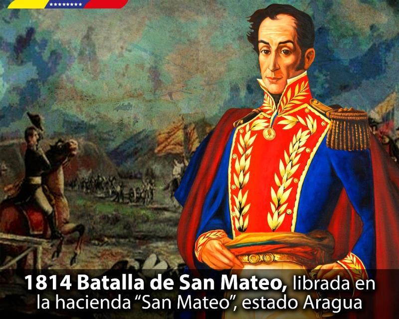 Resultado de imagen para Fotos del El general Simón Bolívar derrota a los realistas encabezados por José Tomás Boves