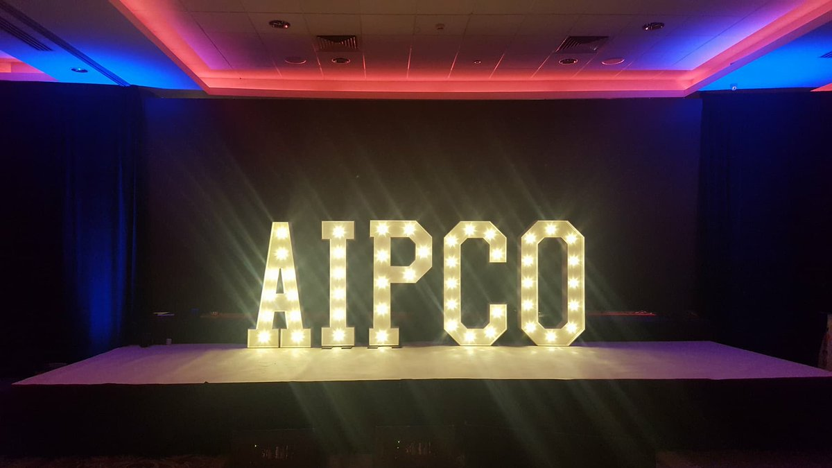 #ThankYouAll @SBSTodayfm @ConallOM #TeamSBS for that amazing #shoutout ! Here we are at @AIPCO_Ireland #AIPCO2018 #AIPCO @GreatSouthernKy this week with our #giantLEDletters #lightupletters #eventprofs #hollywoodledletters #eventdecor Must get Conall&#39;s #nameinlights soon! <br>http://pic.twitter.com/nPy6DaclAh