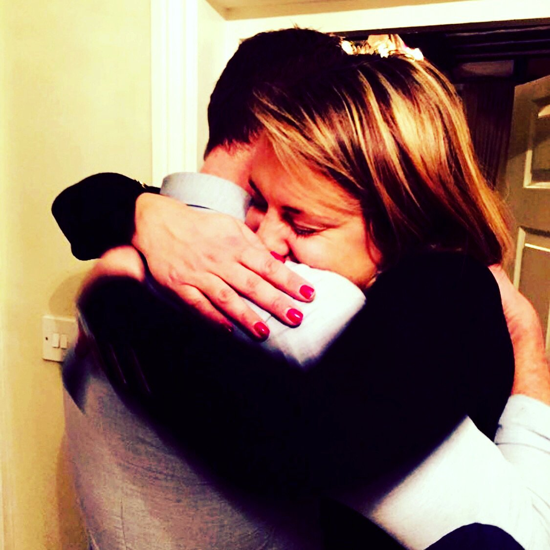 If you're blessed enough in life to have someone to love or be loved give them a hug today. Nothing lasts forever.