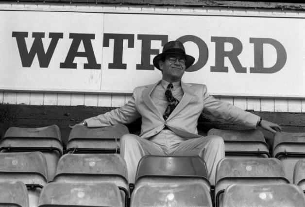 Happy Birthday to most famous fan and former chairman, Elton John...