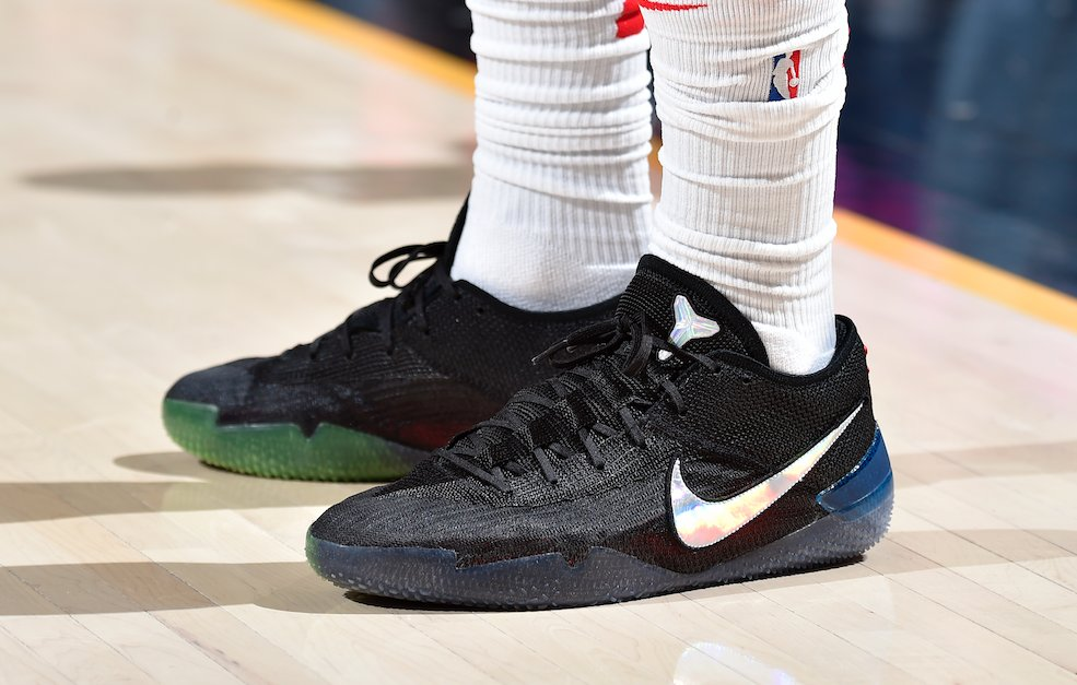 outlet store b9724 e0097 demar_derozan debuted the new nike kobe a.d. nxt 360 earlier ...