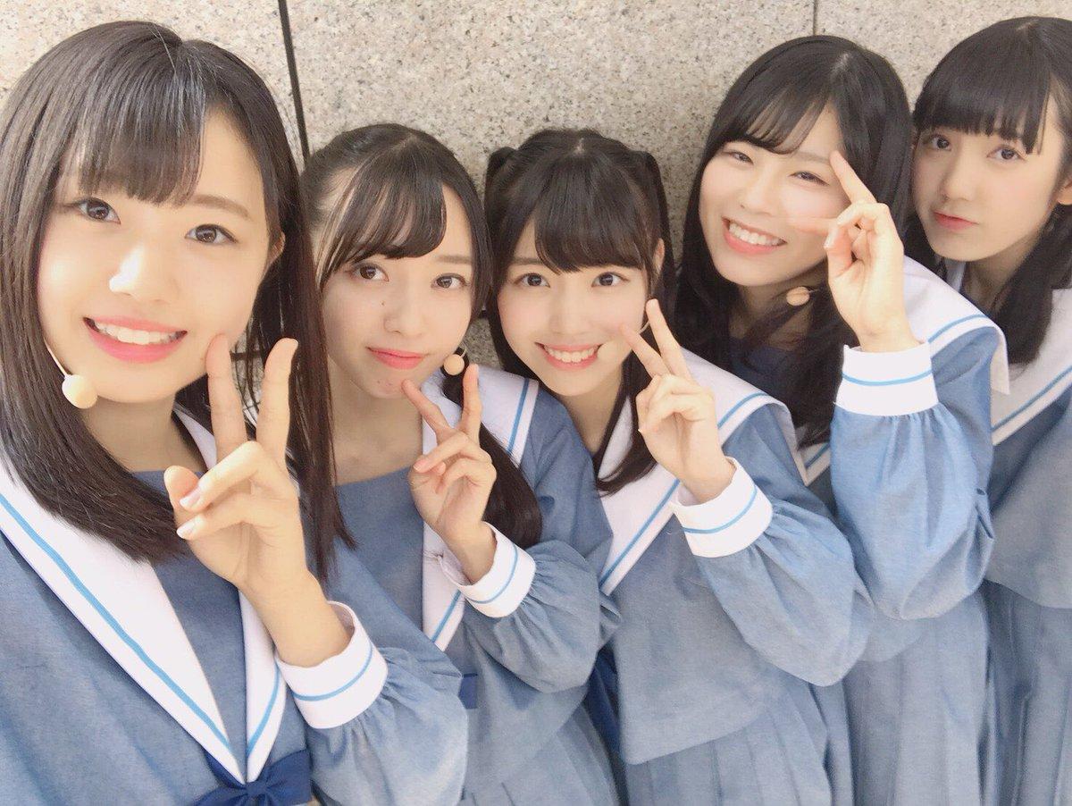 """STU48: STU48 On Twitter: """"ミニステージにて、コントにチャレンジした5人😊 裏ではたくさん練習していました"""
