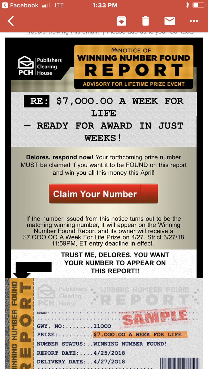 Learn These Pch Winning Number Found Report {Swypeout}