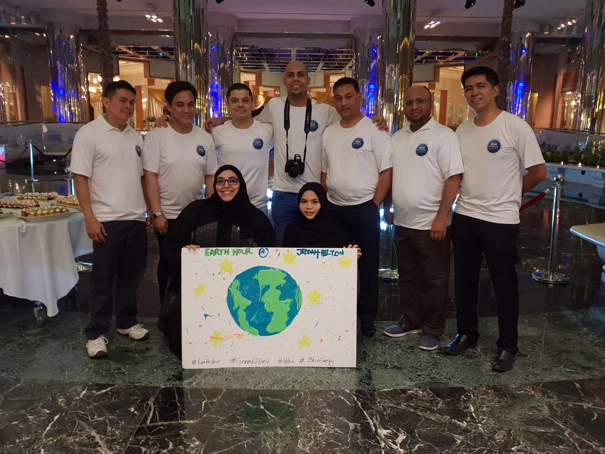 One Hotel To Another From Our Sister Hotels Earthweek Earthhour Connect2earth Promisefortheplanet Climatechange Thinkactsave Hilton Blueenergy