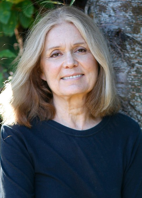 Happy Birthday to Gloria Steinem!  You\ve been an inspiration to me all my life!