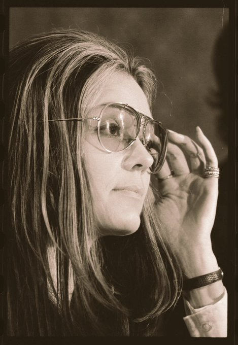 Happy Birthday Gloria Steinem! You are an  in my road to becoming a
