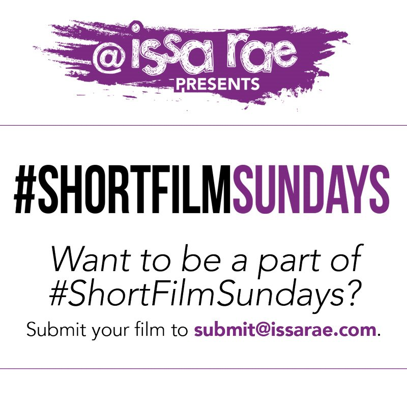 We're looking for short films! #ShortFilmSundays