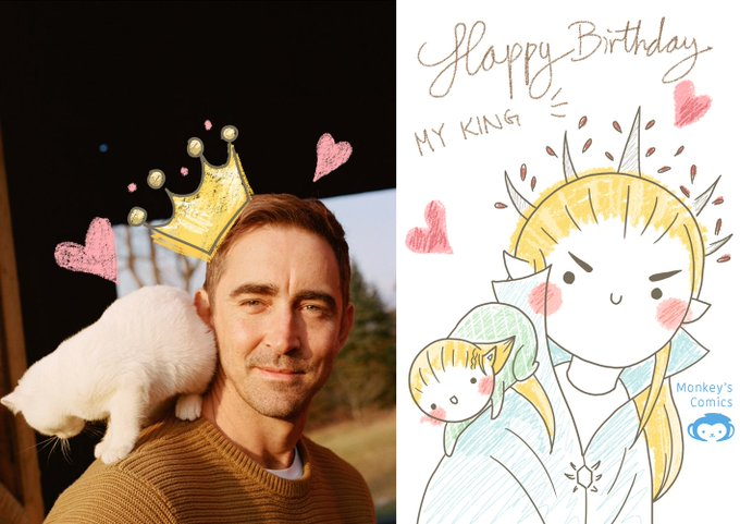Happy Birthday, Lee Pace <3 Our beloved Elven King <3