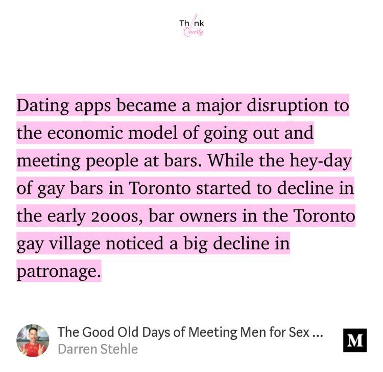 Gay dating app Toronto
