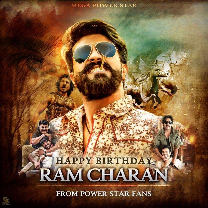 Ram Charan's Birthday Celebration | HappyBday to
