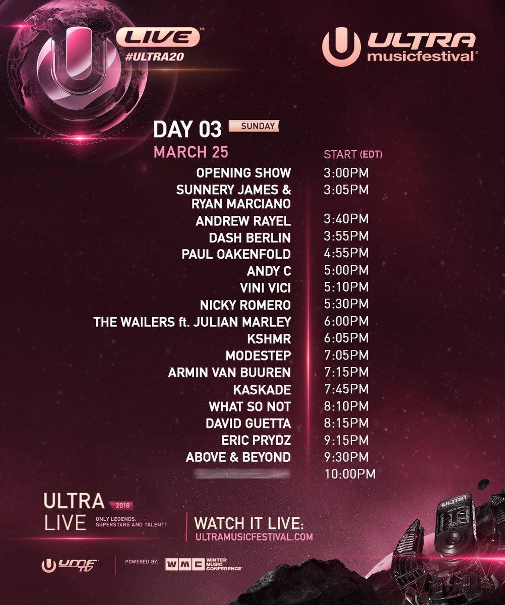 Ultra Music Festival - Miami 2018 (Day3)