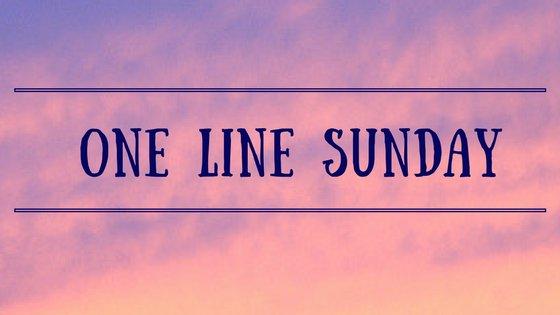 One Line Sunday- Happy Bday Dad/