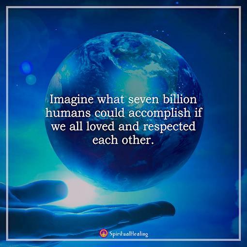 Just #Imagine!   #JoyTrain #Joy #Love #Kindness #Quote #COVID19   #MentalHealth #Mindfulness #GoldenHearts #IAM #IQRTG #FamilyTrain #ChooseLove #WellnessWednesday #IAMChoosingLove #WednesdayThoughts #WednesdayMotivation #WednesdayWisdom RT @Lisandre_Moreau https://t.co/5FpTo2ARGo
