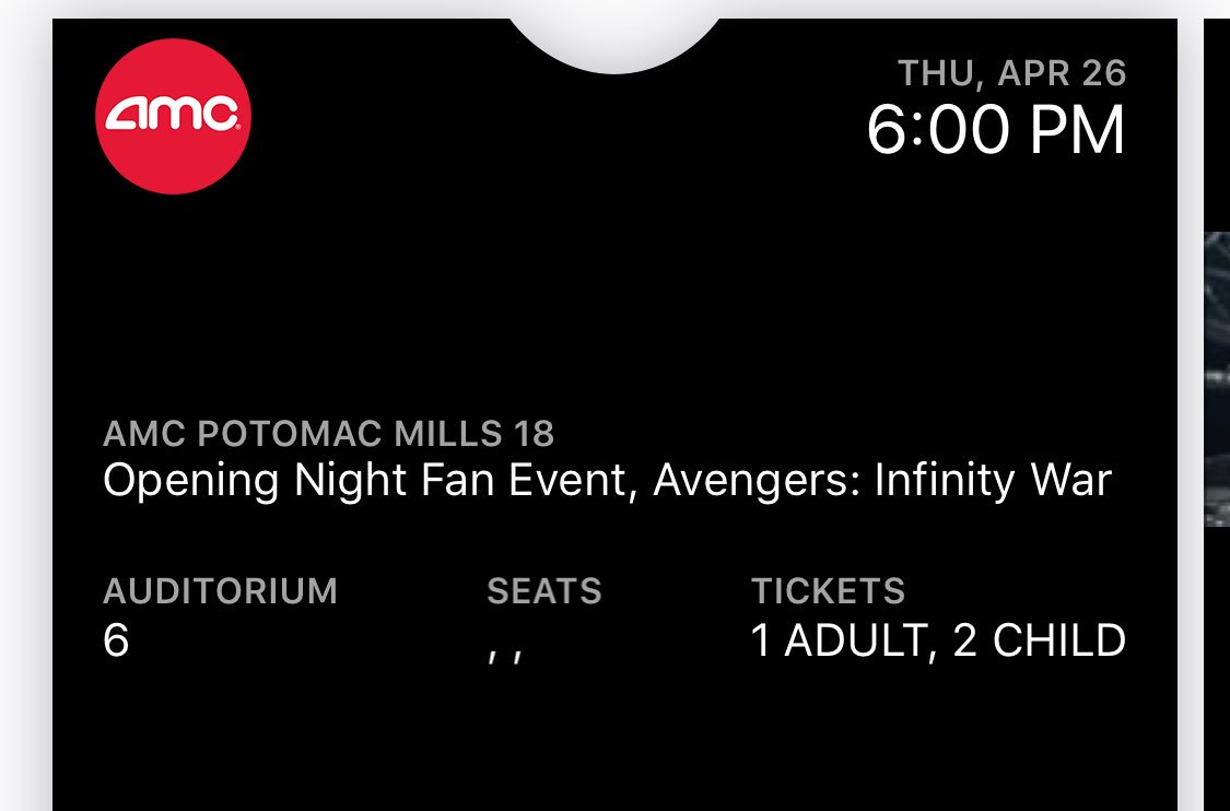 The #CountdownToInfinityWar really started yesterday at my house when I bought tickets for my daughters &amp; me for opening night! Can't wait!!  #CaptainAmerica  #IronMan  #thor  #groot  #rocket #blackpanther  #spiderman  #scarletwitch   #avengersInfinityWar #TDAD #DisneySMMC #TMOM<br>http://pic.twitter.com/oNZLoOfmvO