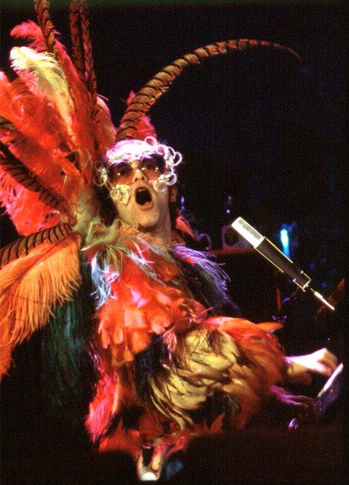 Happy Birthday Elton John! See the Rocket Man on his final tour, Farewell Yellow Brick Road, on October 10!