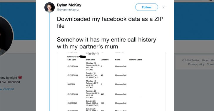 Facebook Has Been Collecting Your Call History and SMS Data From Android Phones For Years https://t.co/AbulFiWL2Z  Surprised?