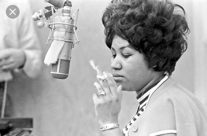Happy birthday to my favorite female vocalist of all time, and the undeniable queen of soul, Aretha Franklin