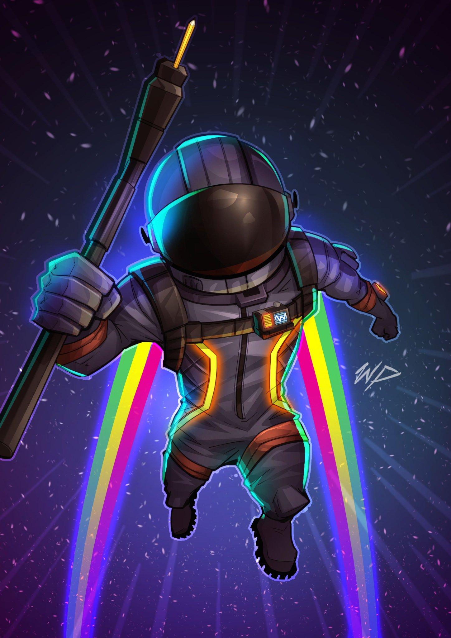 """Puekkers On Twitter: """"Dark Voyager Fan Art @FortniteGame"""