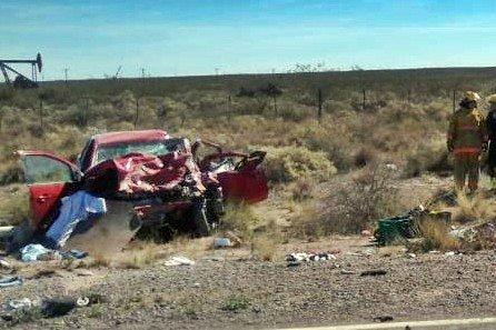 Región | Accidente fatal en ruta Nacional 151: Tres muertos